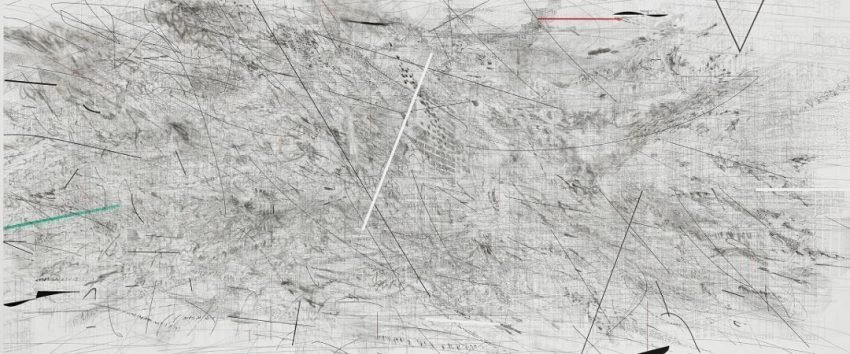 Julie Mehretu Invisible Line